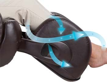ht human touch massage chair review calf massage chair institute