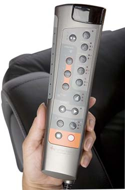 HT 7120 Human Touch Massage Chair Review Remote - Chair Institute