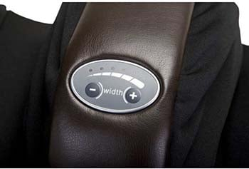 HT 7120 Human Touch Massage Chair Review Width Adjust - Chair Institute