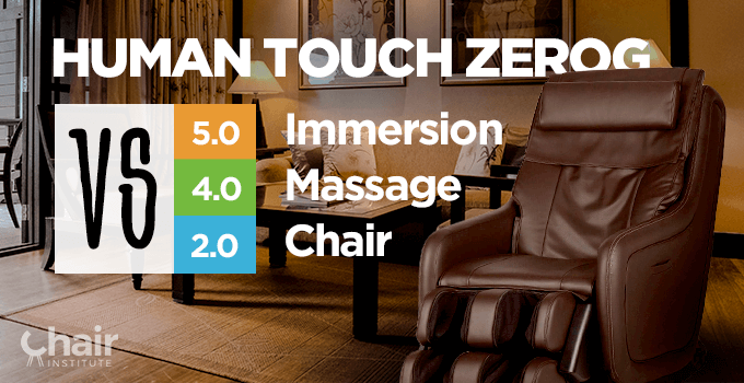 Human Touch ZeroG 5.0 vs 4.0 vs 2.0 Immersion Massage Chair Review