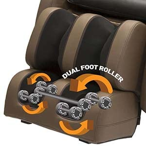 Kahuna Massage Chair LM6800 Review Foot Rollers - Chair Institute