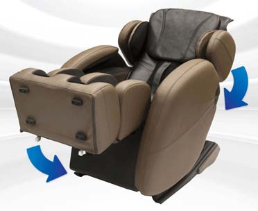Kahuna Massage Chair LM6800 Review Stretch - Chair Institute
