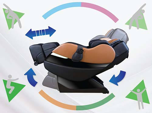 Kahuna SM7300 Massage Chair Yoga Stretch - Chair Institute