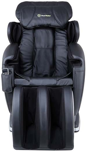 Real Relax Massage Chair Review Front - Chair Institute