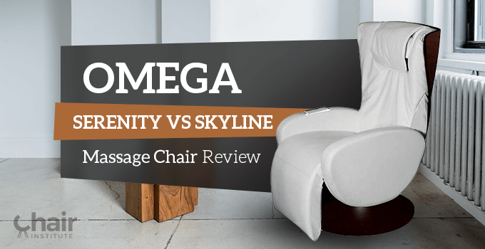omega serenity vs omega skyline massage chair review 2018 chair