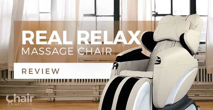 real relax massage chair review 2018 chair institute
