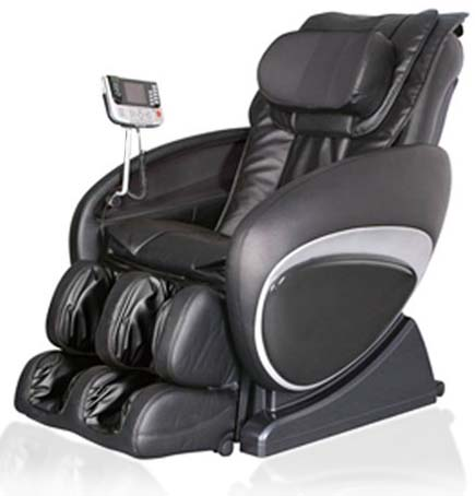 Black Cozzia 16027 Massage Chair