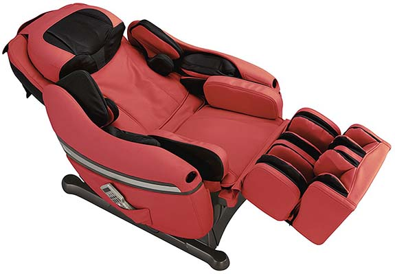 Inada DreamWave Review Red Recline - Chair Institute
