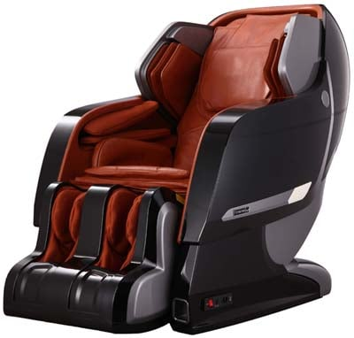 Infinity Iyashi Review Black n Caramel Main - Chair Institute