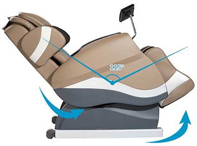 Merax Massage Chair Review Space Saving - Chair Institute