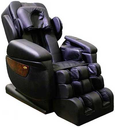 Best Massage Chair for Neck and Shoulders Luraco i7 Black - Chair Institute