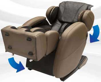 Best Massage Chairs For Home Use Kahuna LM6800 Body Stretch   Chair  Institute