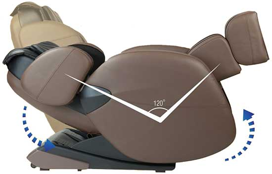 Massage Chair for Sciatica Kahuna LM6800 Zero G - Chair Institute