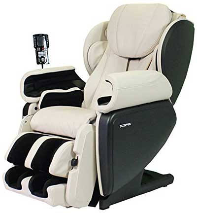 Massage Chair for Tall Person Apex AP Pro Regent White - Chair Institute