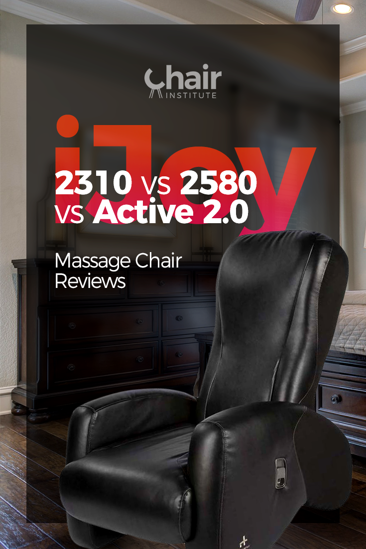 iJoy 2310 vs 2580 vs Active 2.0 Massage Chair Reviews