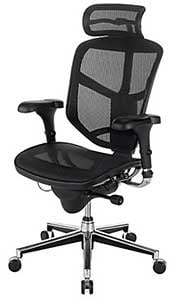 An Image of Ergonomic Office Chair for Types of Desk Chairs