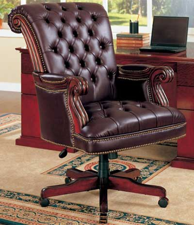 An Image of Executive Chair for Different Types of Desk Chairs