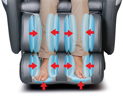 How to Choose a Good Massage Chair Foot Massage - Chair Institute