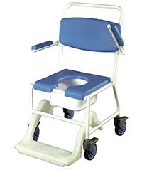 An Image of Shower Commode Chair for Types of Commode Chair