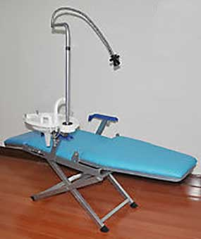 An Image of Mobile Independent Design for Types of Dental Chair