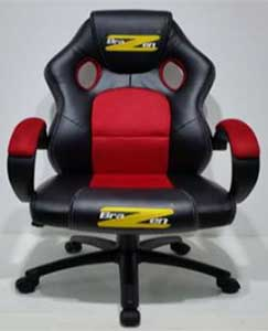 An Image of BraZen Shadow Red Color Gaming Chair for Different Types of Gaming Chairs