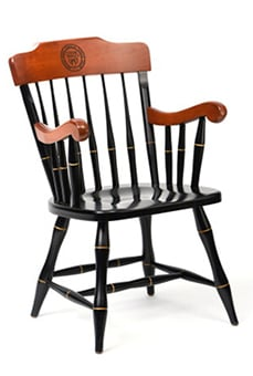 An Image of Captain's Chair for Types of Restaurant Chairs