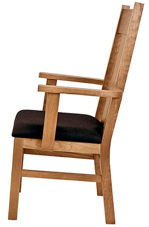 An Image of Mission Shaker Restaurant Chair for Types of Restaurant Chairs