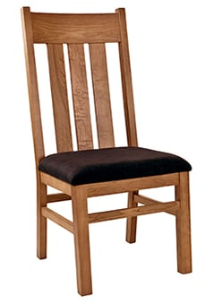 An Image of Mission/Shaker Chair for Types of Restaurant Chairs