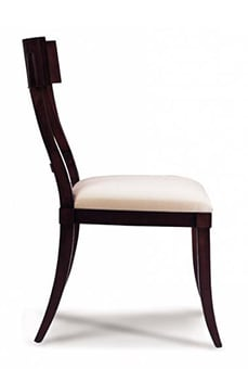 An Image of Side Chair for Types of Restaurant Chairs