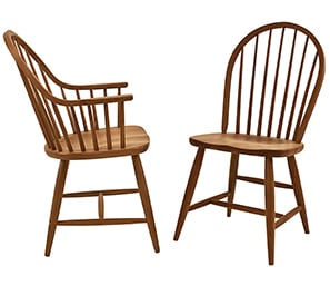 An Image of Windsor Chair for Type of Restaurant Chair