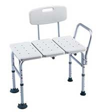 An Image of Transfer Bench for Different Types of Shower Chairs