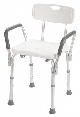 An Image of Walgreens Shower Chair for Types of Shower Chairs
