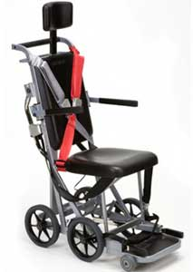 An Image of Airplane Wheelchair for Different Types of Manual Wheelchairs