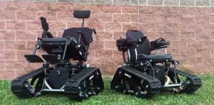 An Image of All-Terrain Wheelchair for Types of Wheelchairs