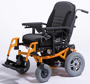 An Image of Electric Wheelchair for Different Types of Electric Wheelchairs