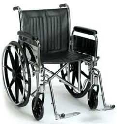 An Image of Manual Wheelchair for Types of Wheelchairs for Paraplegics