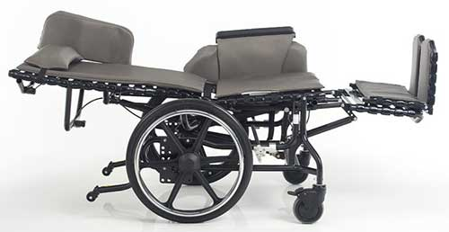 An Image of Reclining Wheelchair for Types of Wheelchairs for Spinal Cord Injuries