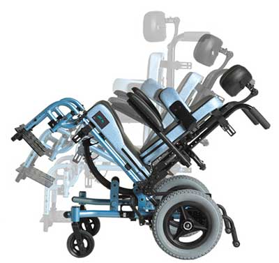 An Image of Tilt Wheelchair for Types of Wheelchairs Available