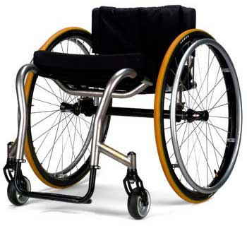 An Image of Ultra-light Wheelchair for Different Types of Electric Wheelchairs