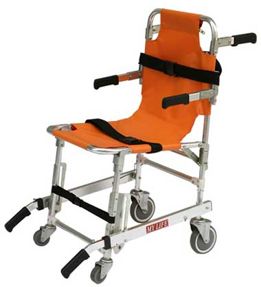 An Image of Wheelchair Stretcher for Types of Manual Wheelchairs