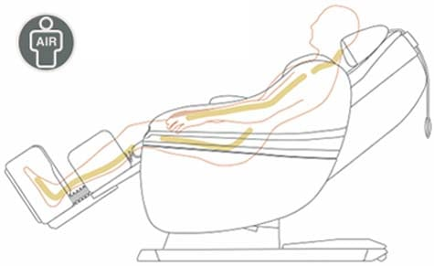Best Massage Chair Inada Dreamwave Air Massage - Chair Institute