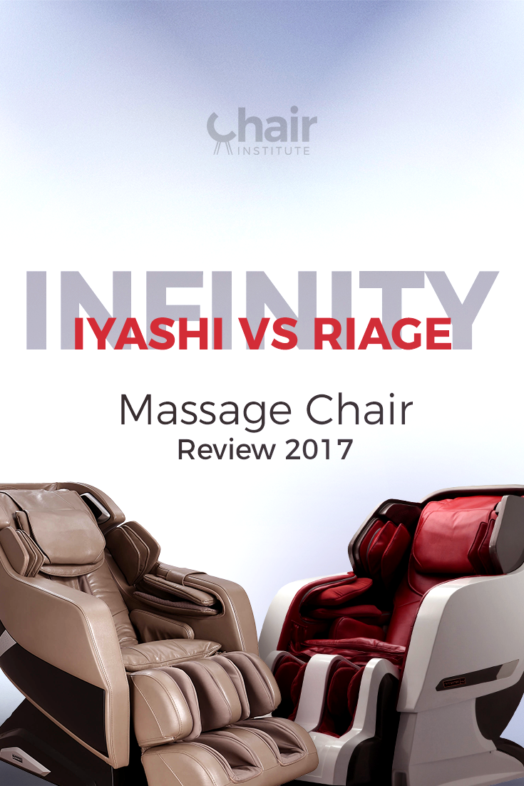 Comparing the Infinity Iyashi vs Riage, which one's better? If you suffer from chronic pain, you won't want to miss this review!