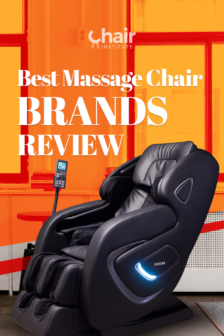Wondering what are the best massage chair brands on the market today? Here's a complete list of our recommended massage chair manufacturers.