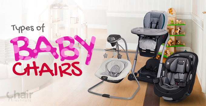 Types of Baby Chairs Banner