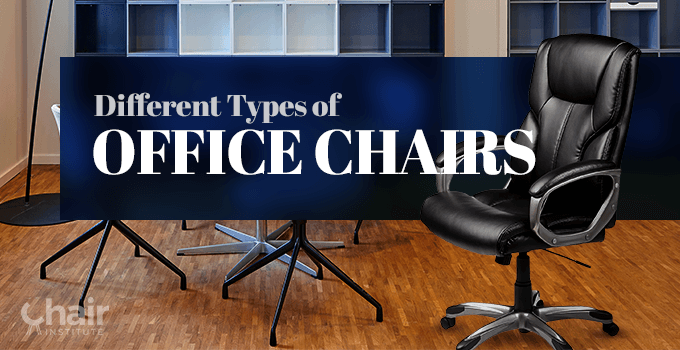 Different Types of Office Chairs Banner
