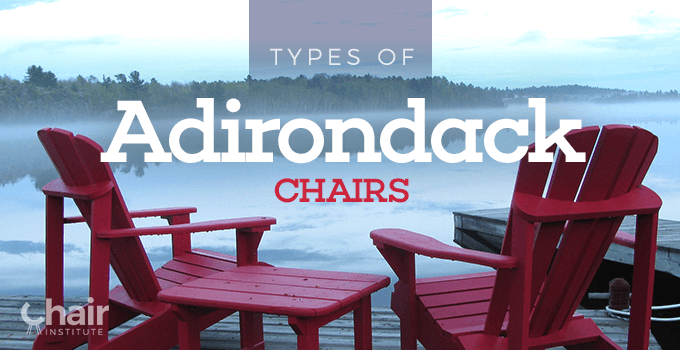 Types of Adirondack Chairs Banner