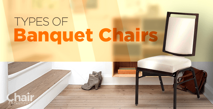 Types of Banquet Chairs Banner