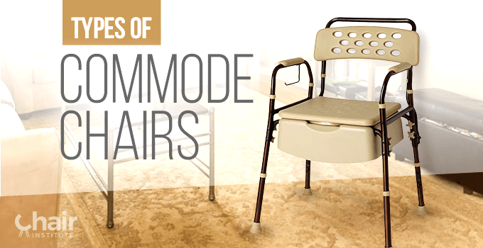 Types of Commode Chairs Banner