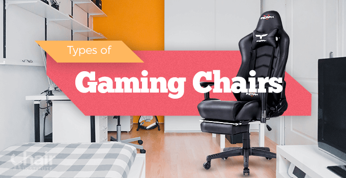 Types of Gaming Chairs Banner