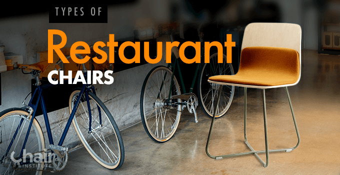 Types of Restaurant Chairs Banner